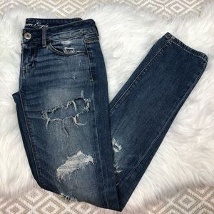 American Eagle Distressed Skinny Jeans 2 Regular
